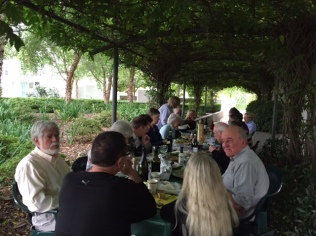 Autumn long table lunch 2
